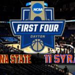 NCAA Men's First Four: #11 Arizona State vs #11 Syracuse