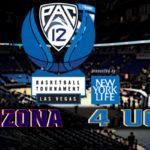 Pac-12 Men's Semifinal: #1 Arizona vs #4 UCLA
