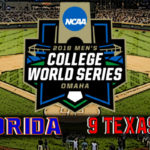 NCAA College World Series Game #4: #1 Florida vs #9 Texas Tech