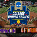 NCAA Women's College World Series Final Game #2: #5 Washington vs #6 Florida State