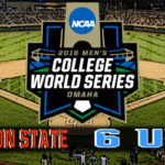 NCAA College World Series Game #9: #3 Oregon State vs #6 North Carolina