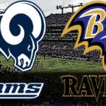 Rams at Ravens (Preseason)