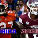 Florida at 23 Mississippi State