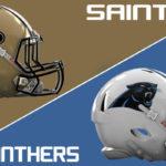Saints at Panthers