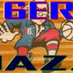 76ers at Jazz