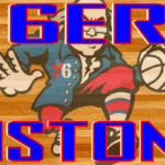 76ers at Pistons