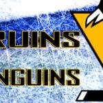 Bruins at Penguins