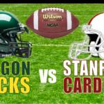 Oregon @ Stanford
